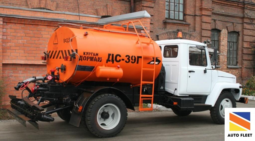 Автогудронатор дс-39Г на шасси газ-3309