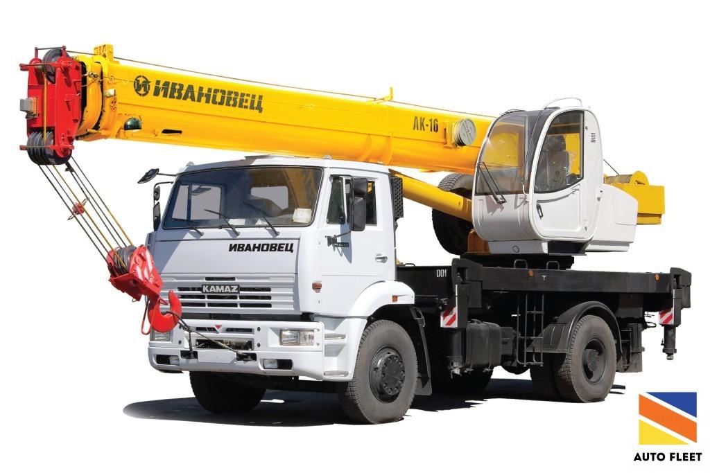 IVANOVEC 16t truck crane