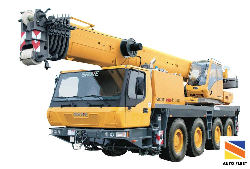 Автокран - Truck crane GMK100B