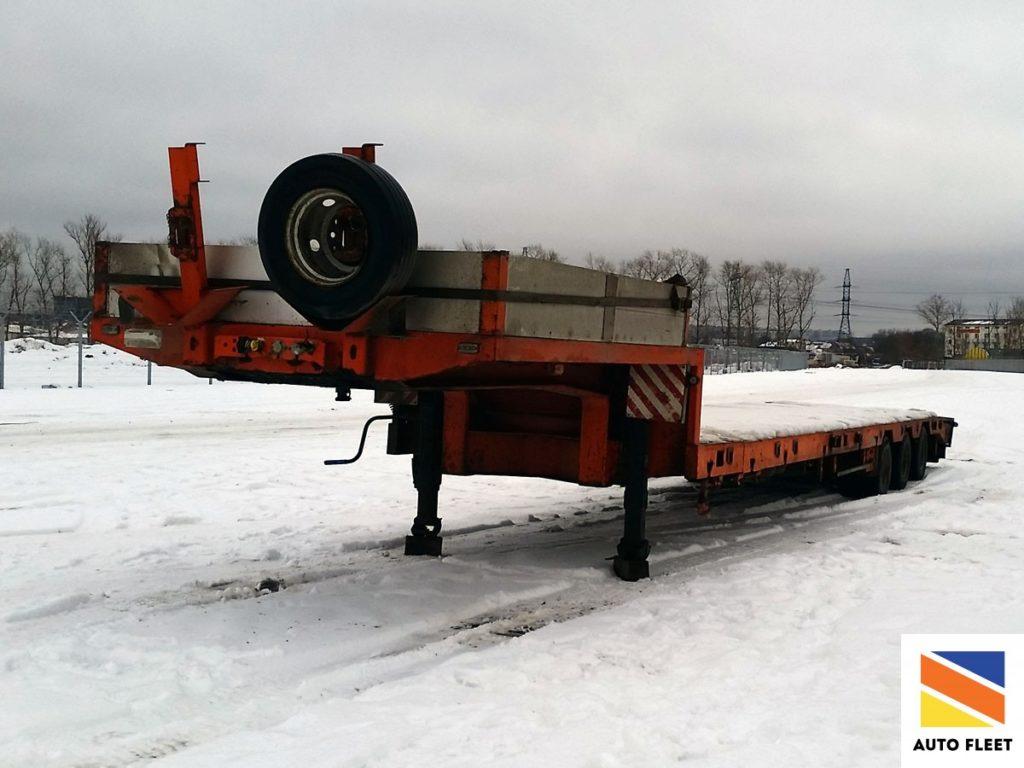 Тверьстроймаш 99393Е - Полуприцеп трал http://fleet-auto.ru