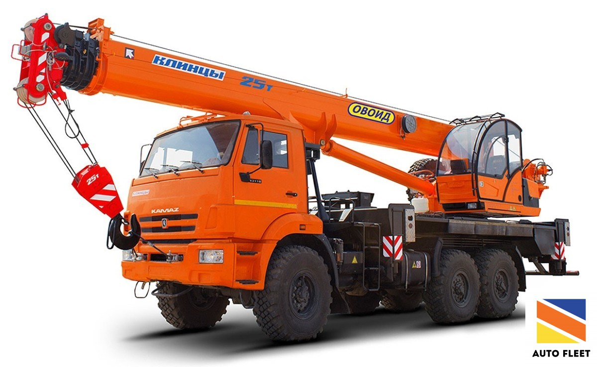 Клинцы автокран 25 тонн
