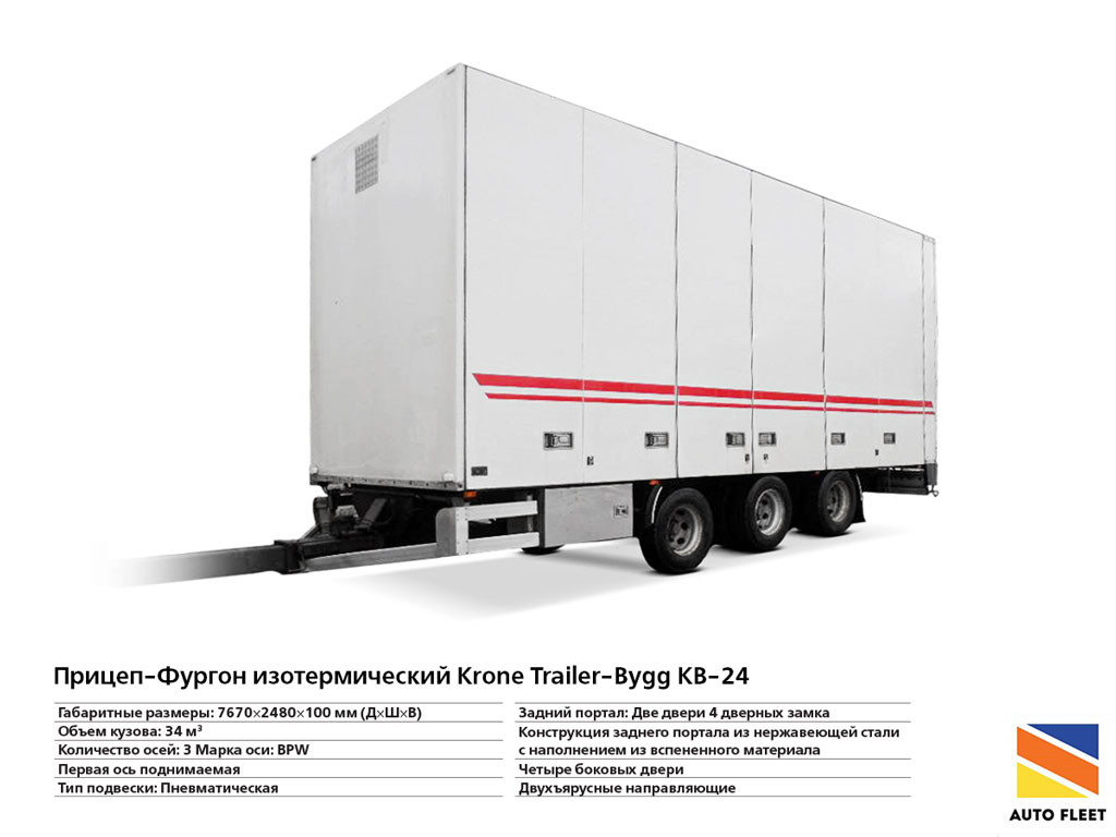 Прицеп Фургон-изотермический Krone Trailer-Bygg KB-24