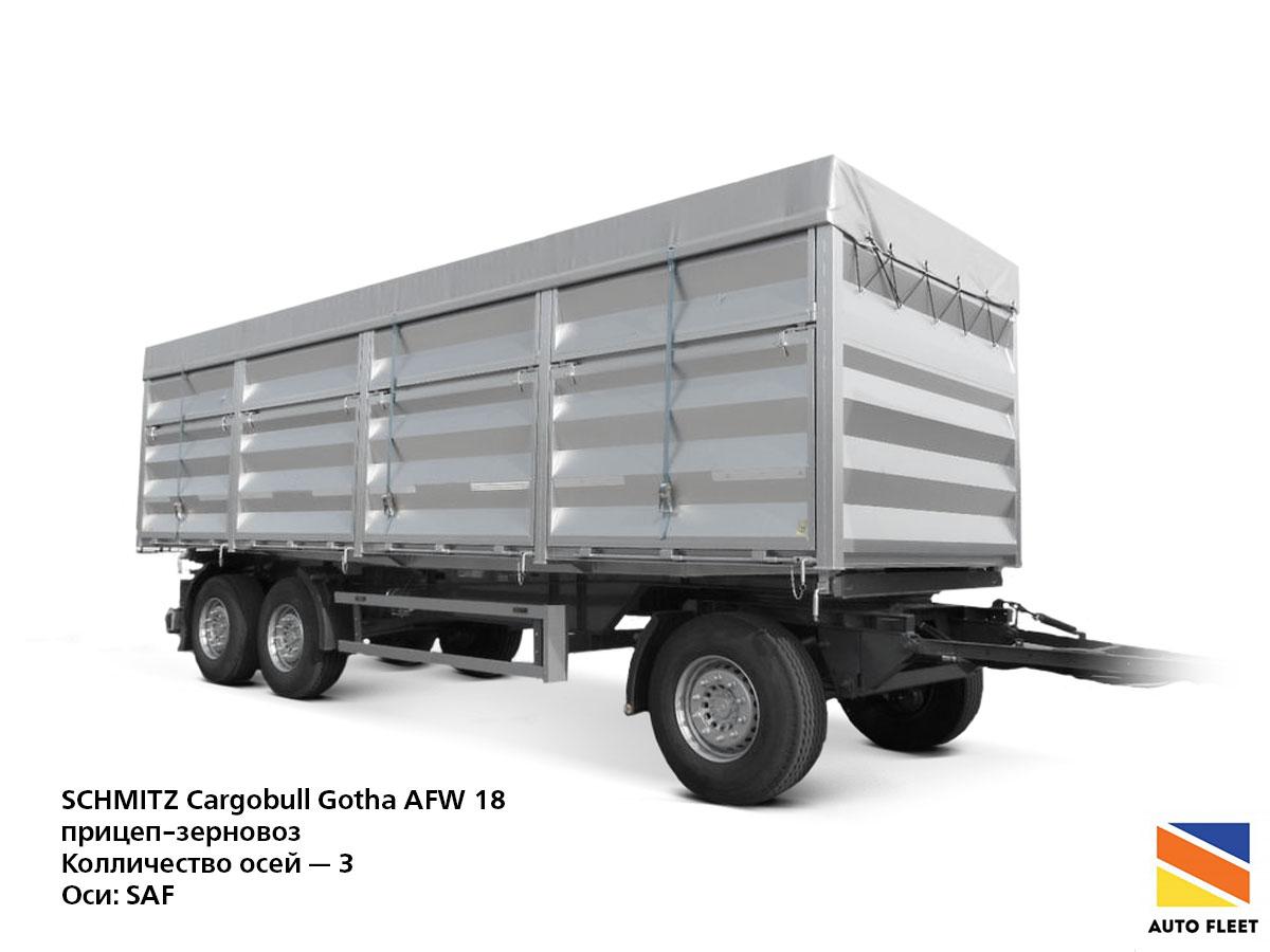 SCHMITZ Cargobull Gotha AFW 18
