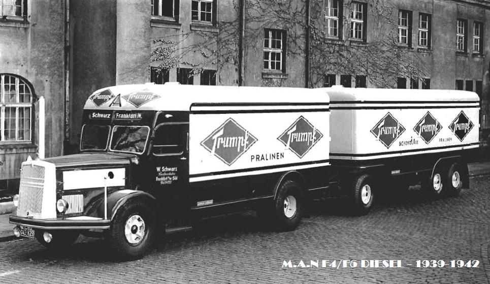 MAN F4 тяжелый грузовик