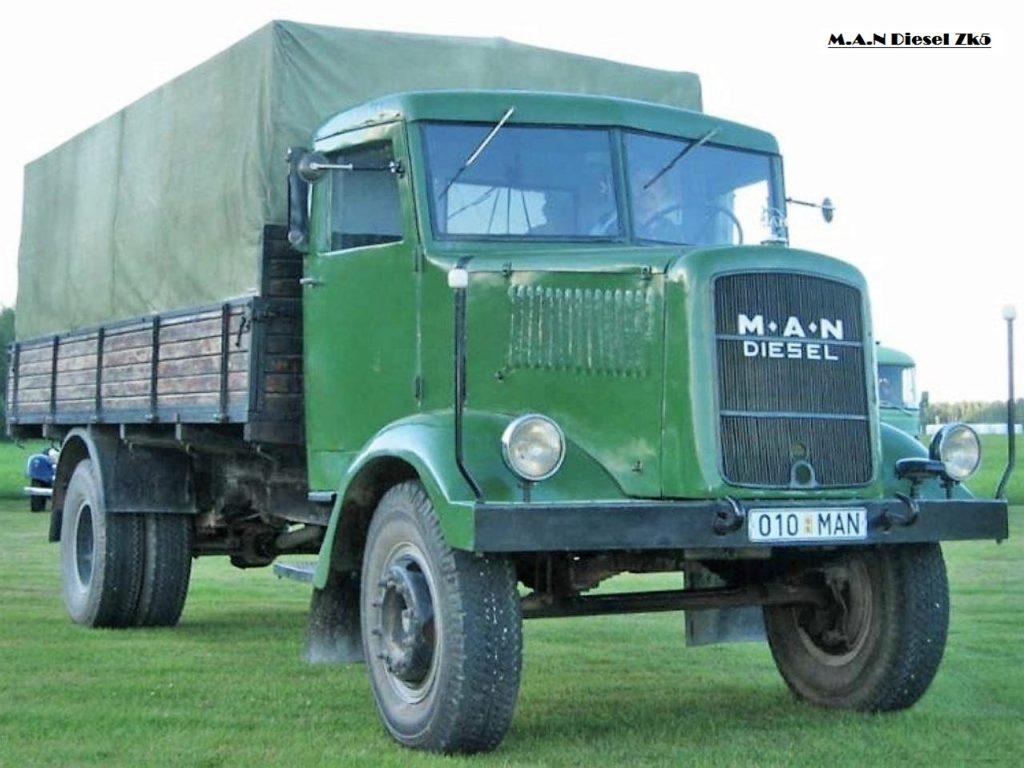 MAN-zk5 truck