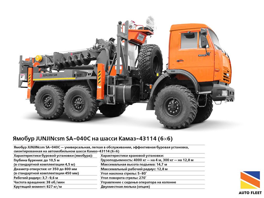 Ямобур JUNJINcsm SA-040C