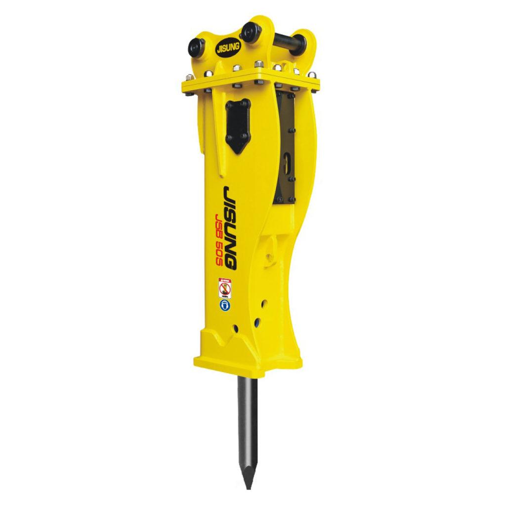 Гидромолот JSB50S от компании JISUNG. Экскаватор-погрузчик с навесным оборудованием б.у.
