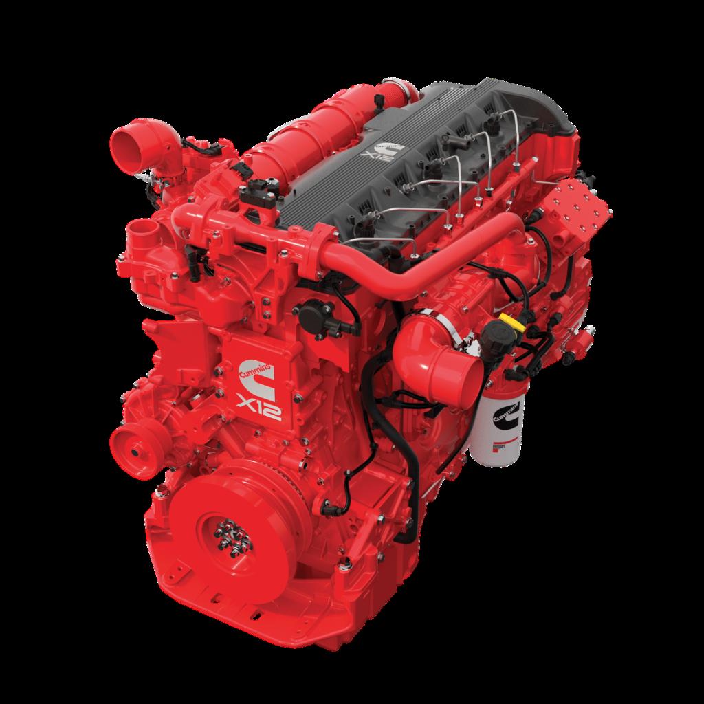 Новые двигатели Cummins X12 и X15