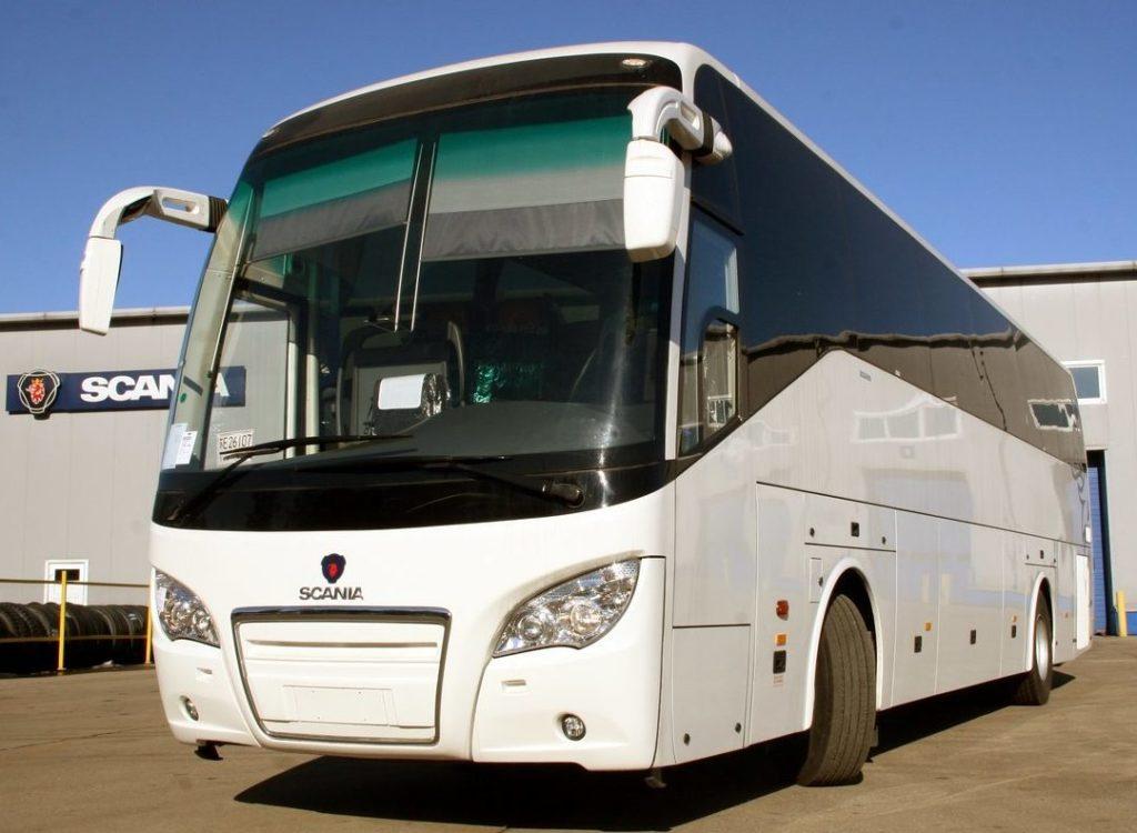 SCANIA OMNI 2016 комфортабельный рейсовый автобус.