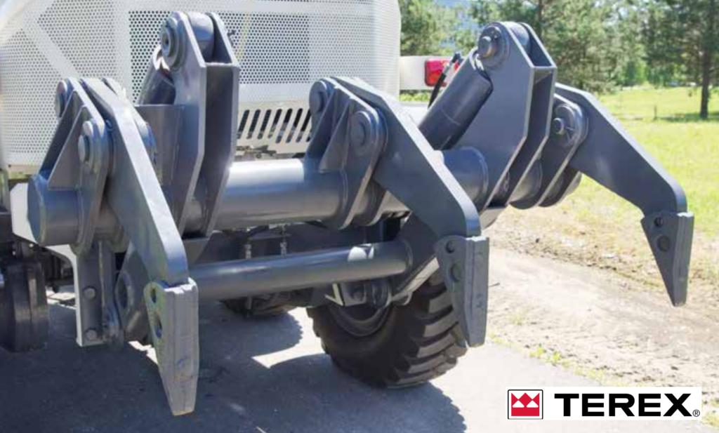 Киркировщик автогрейдер TEREX TG series http://fleet-auto.ru