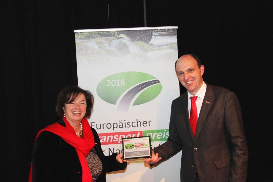 Полуприцеп Kogel получил премию за экологичность
