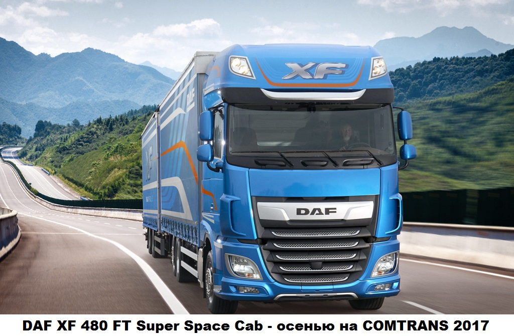 DAF XF 480 FT Super Space Cab